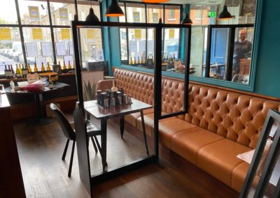 pub screens 1 - Covid 19
